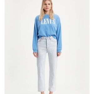 Ribcage Straight Ankle Women's Jeans Levi's